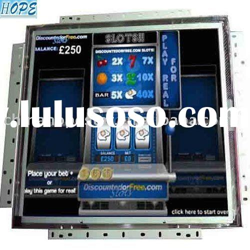 lcd touch screen monitor for gaming machine