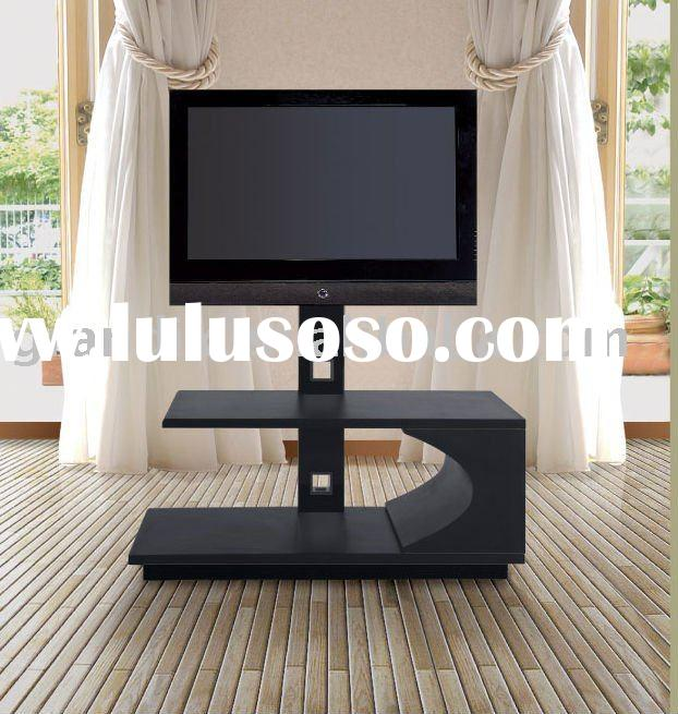 lcd tv stand wooden