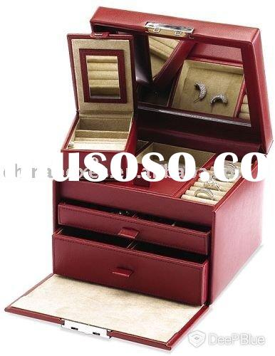 nice wooden jewelry display case
