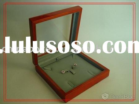 novelty wooden jewelry display case