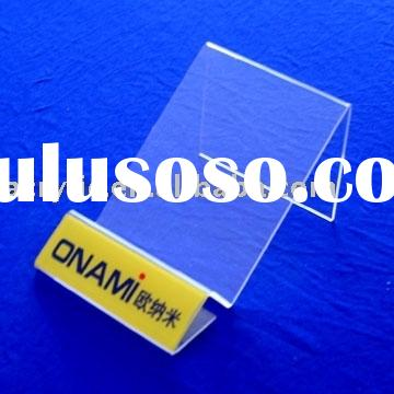 transparent or color Acrylic advertising Display