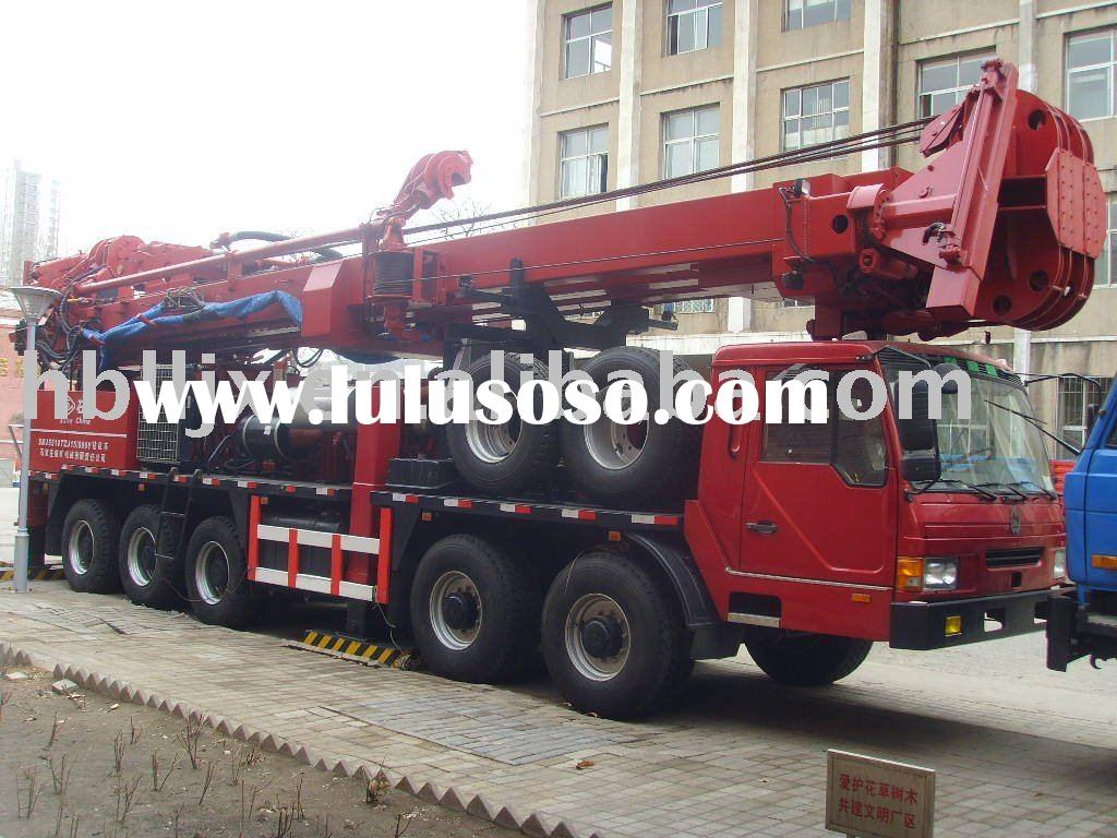1500m oil and gas drilling rig truck mounted
