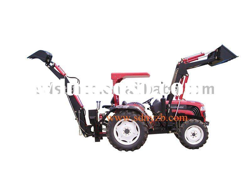 CE backhoe for farm tractor,tractor excavator