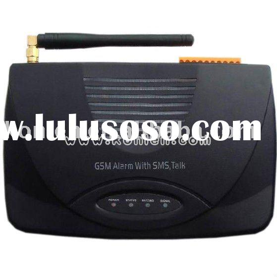 GSM alarm control panel for home with relay out output/learning code/SMS and call alert