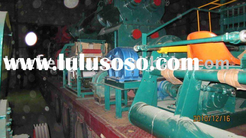Hot sale in Africa!full automatic clay bricks making equipment