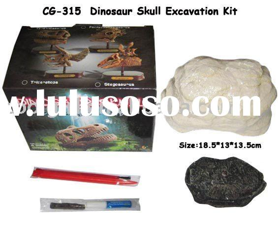 dig dinosaur fossil excavation kit