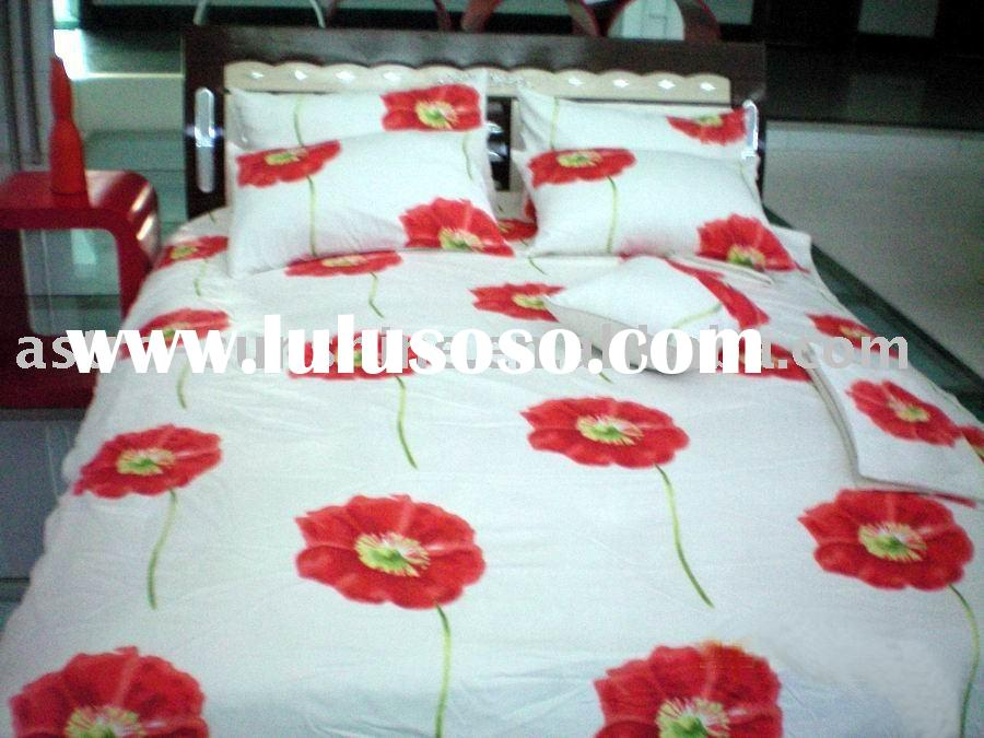 100%Cotton Printed Bedding Fabric (manufacturer)