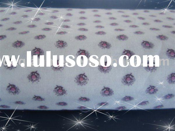 100% cotton printed muslin fabric