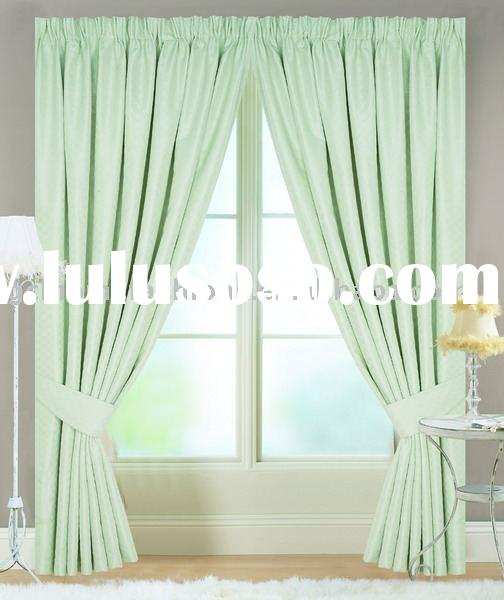 100%polyester Jacquard ready made curtains