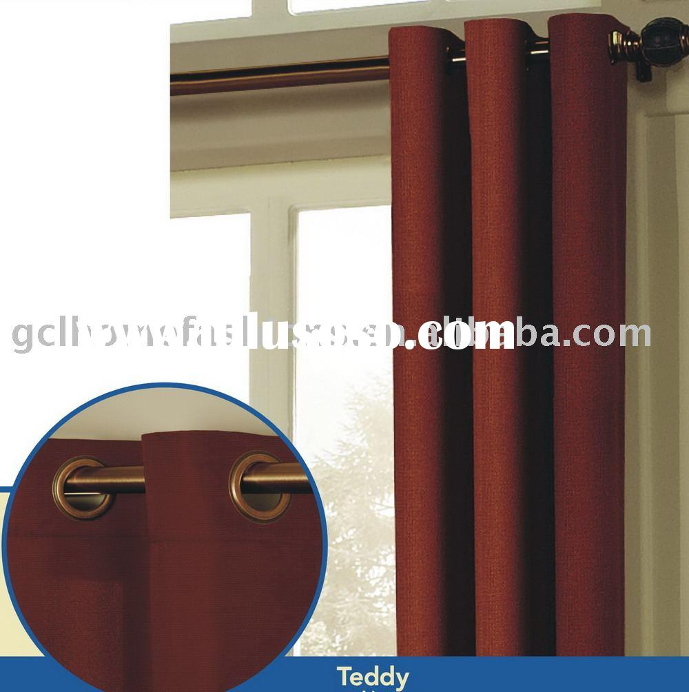 100%polyester curtains for windows(home textile)