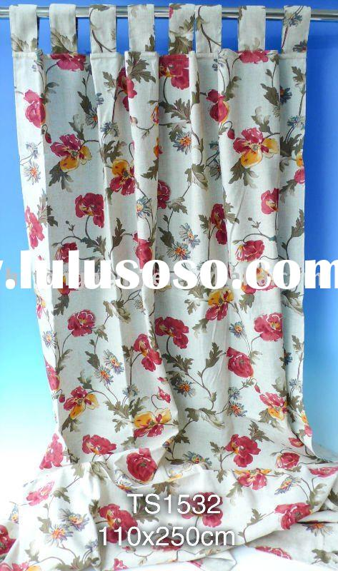 Cotton and Polyester Window Curtains