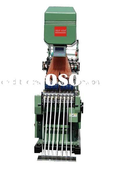 Electronic jacquard shuttleless needle loom