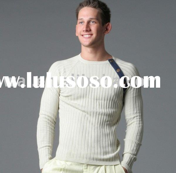 Men's Fashion Brand Casual Sports Promotional Cotton Sweater Pullover