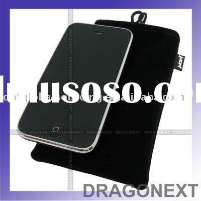 New Soft Pouch Pocket/cotton fabric Case For iPhone 2G 3G iPod Touch