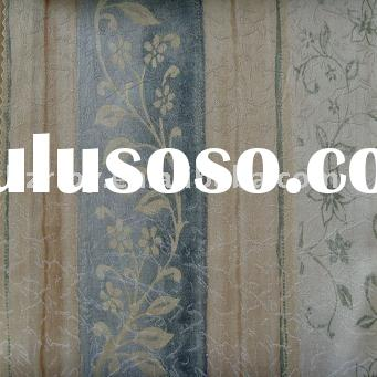 Polyester and cotton woven jacquard Curtain Fabric