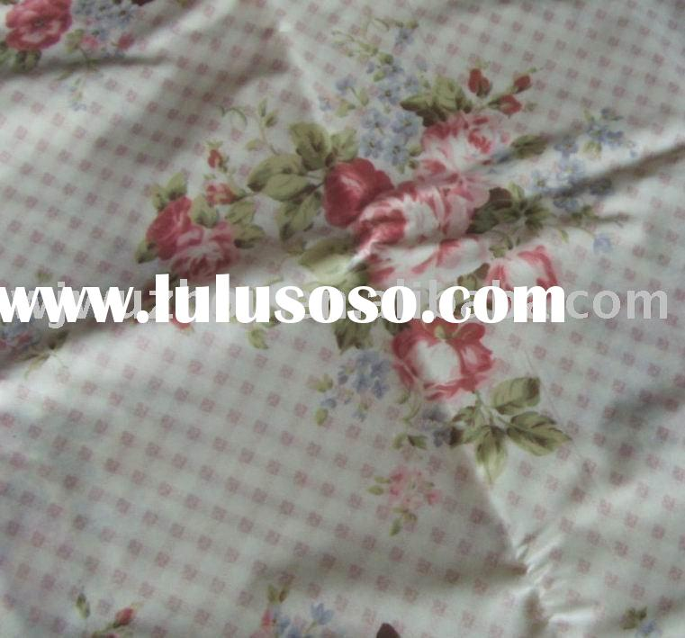Printed Cotton Fabric Laminated with PVC film for table cloth