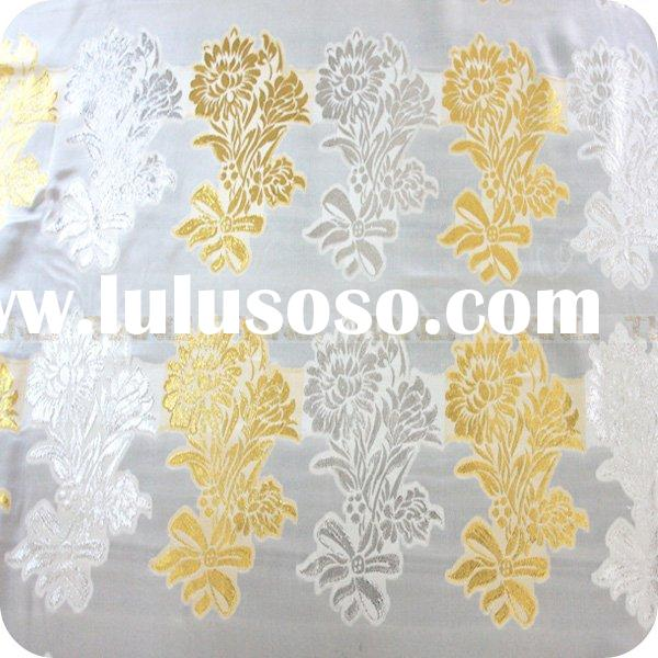 Raw Silk Satin Fabric