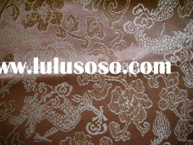 Silk Damask fabric, Jacquard woven material, factory supplying, Yarn Dyed Jacquard Brocade, Classica