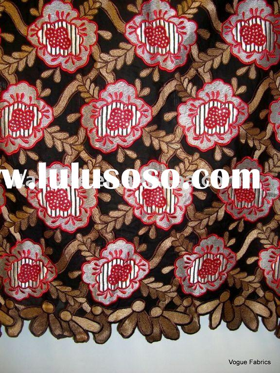 african embroidered swiss voile lace fabric