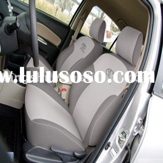 car seat cover black and white