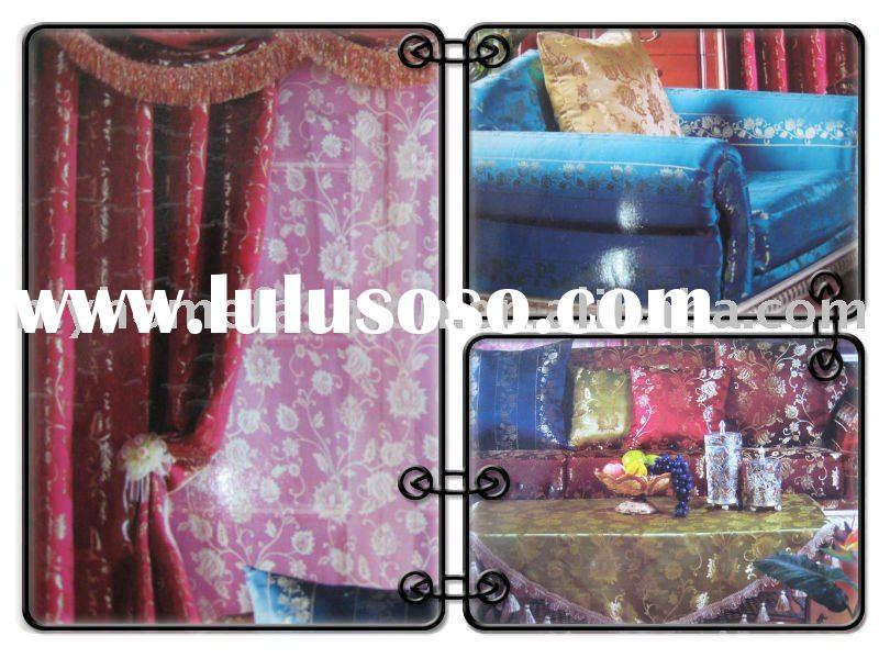 cheap jacquard curtain fabric