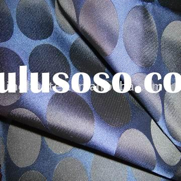 chemical fabric with round pattern jacquard  for garment