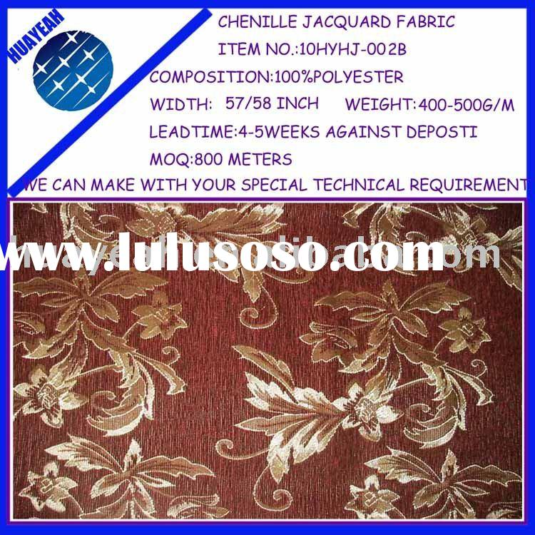 chenille jacquard curtain designs