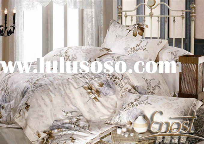 cotton and polyester Jacquard bedding set