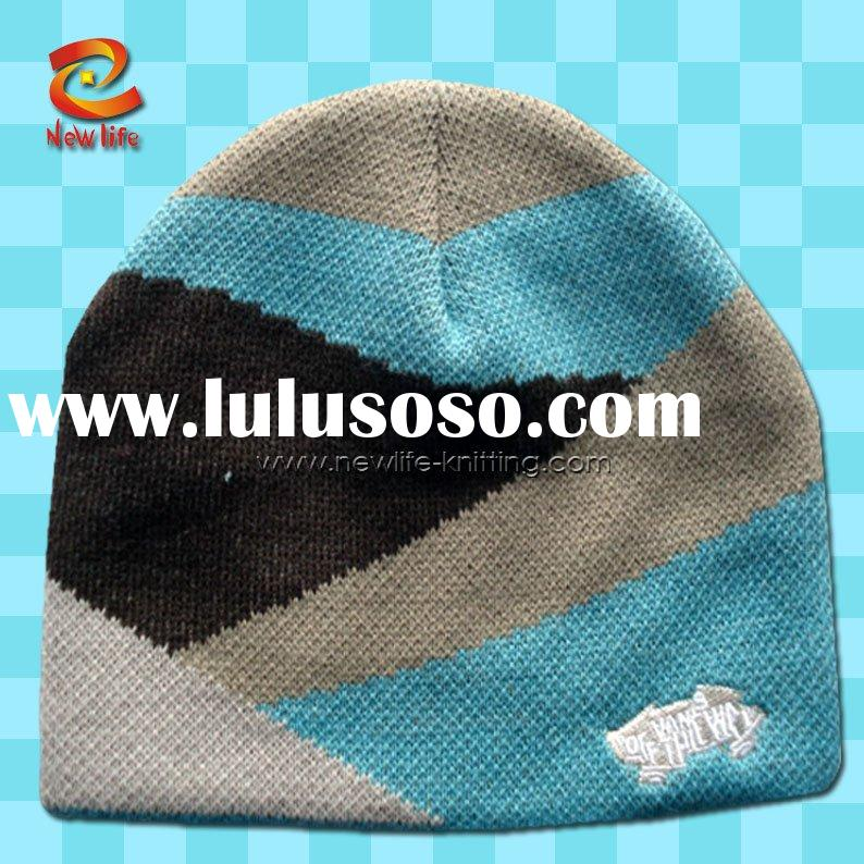 fashion jacquard hat