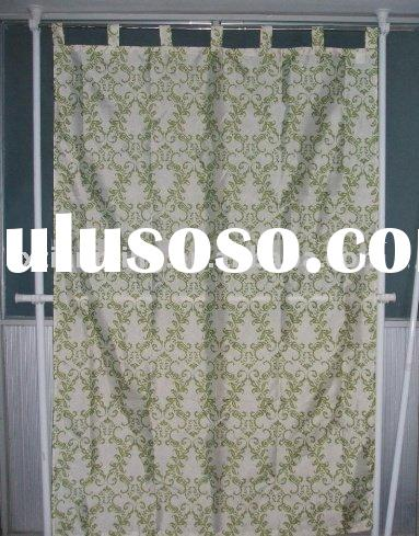 faux-silk dupioni  window curtain