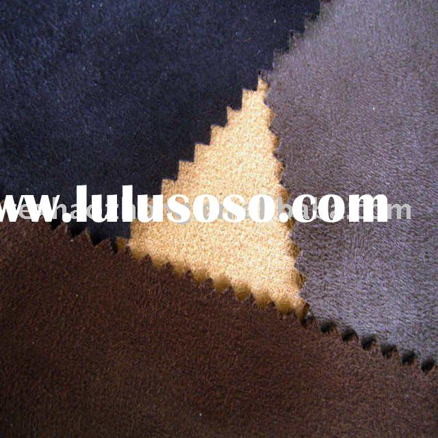 faux suede bedding fabric