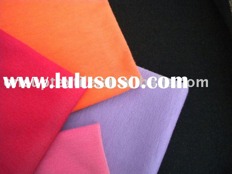 knitted stretch single jersey fabric