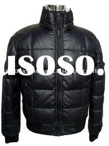 leather down jackets for men
