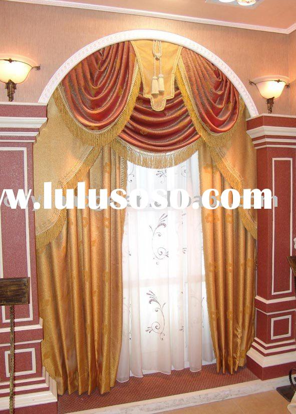 morden polyester hotel curtain