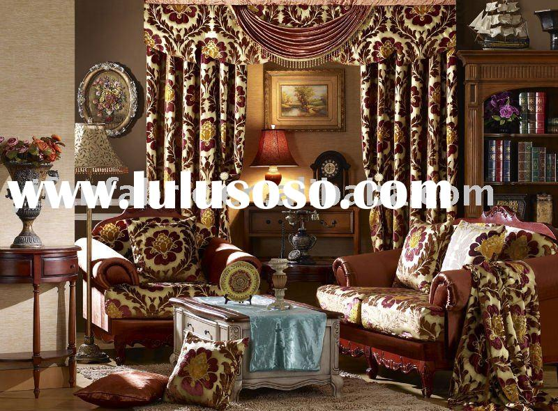more design100%polyester velvet fabric for curtain