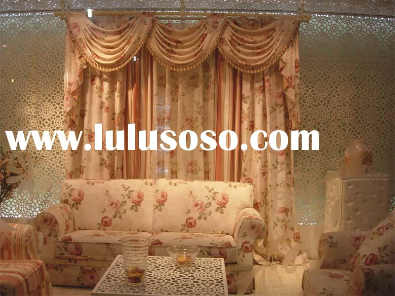 polyester/cotton printed curtain