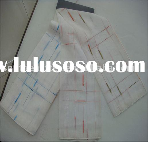 polyester linen-like curtain fabric