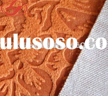 polyester suede fabric / Embossing and Compound Fabric / Sofa Fabric