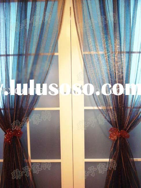 polyester voile curtain