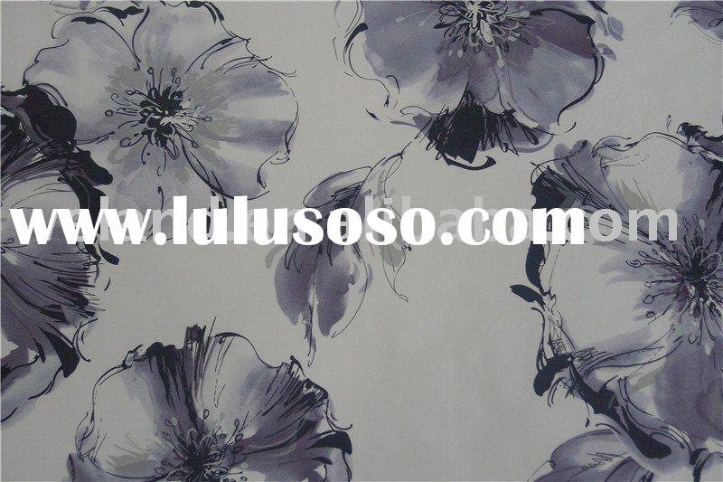 silk fabric hand painted Textiles & Leather Products Fabric