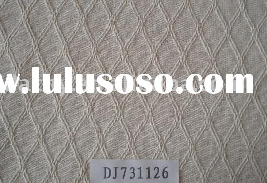 thick jacquard cotton fabric