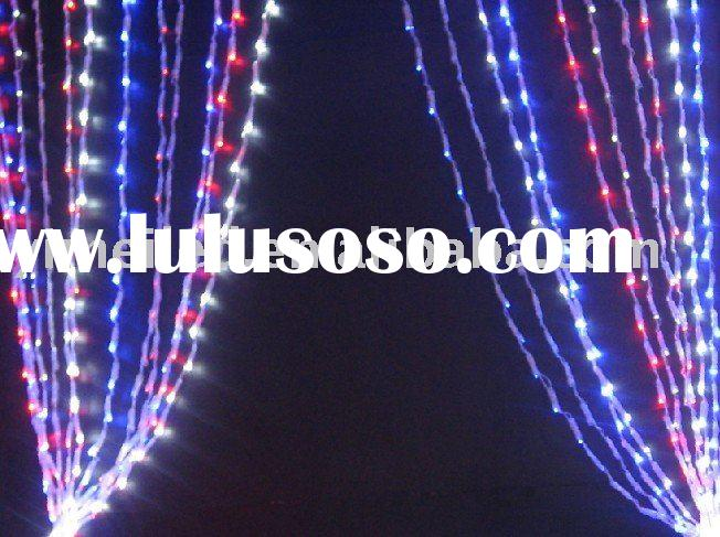 wedding light curtain christmas led light