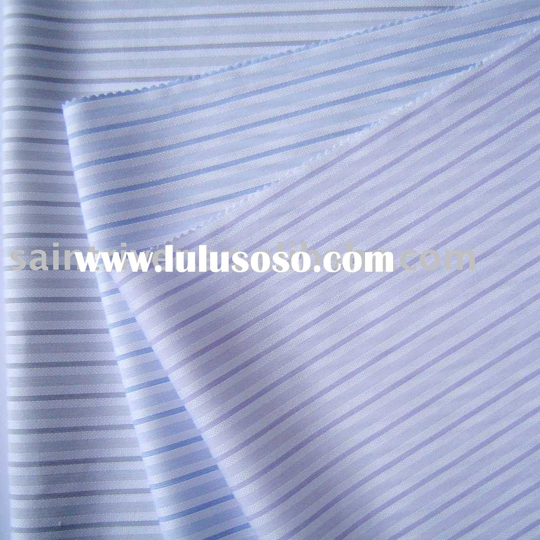 100% cotton  fabric for shirt /whole sale