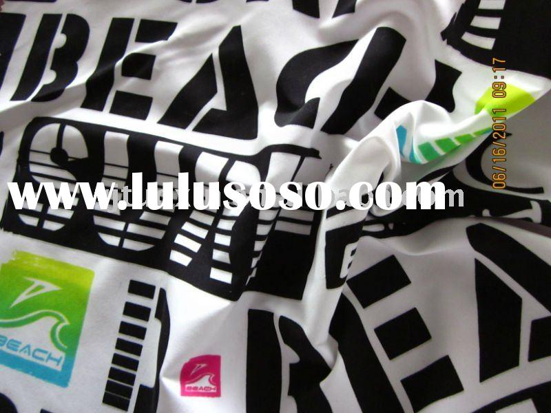 150D Polyester Printed Microfiber Fabric
