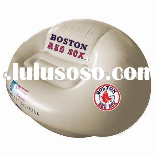 Boston Red Sox Team Logo Inflatable Football Sofa