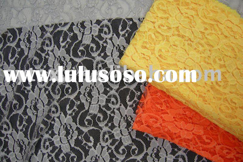 ELASTIC LACE FABRIC STRETCH
