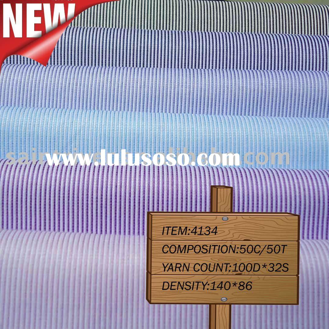 Fashion Stripe Fabric Woven by Air-jet Looms(4134#)