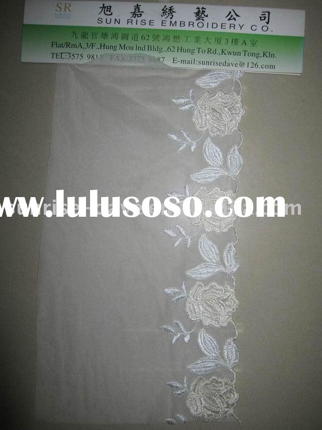 Knit Lace, Swiss Lace, Embroidered Fabric