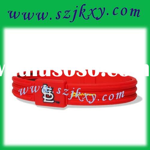 "MLB Boston Red Sox 6.75""power Titanium balance Bracelet band"