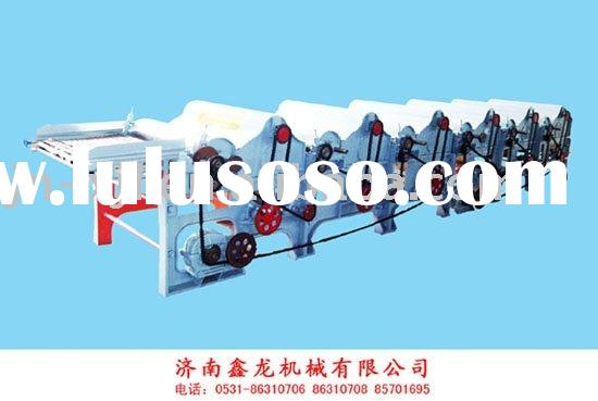 MQT250*1000 Six-roller Textile Yarn Waste Recycling Machine